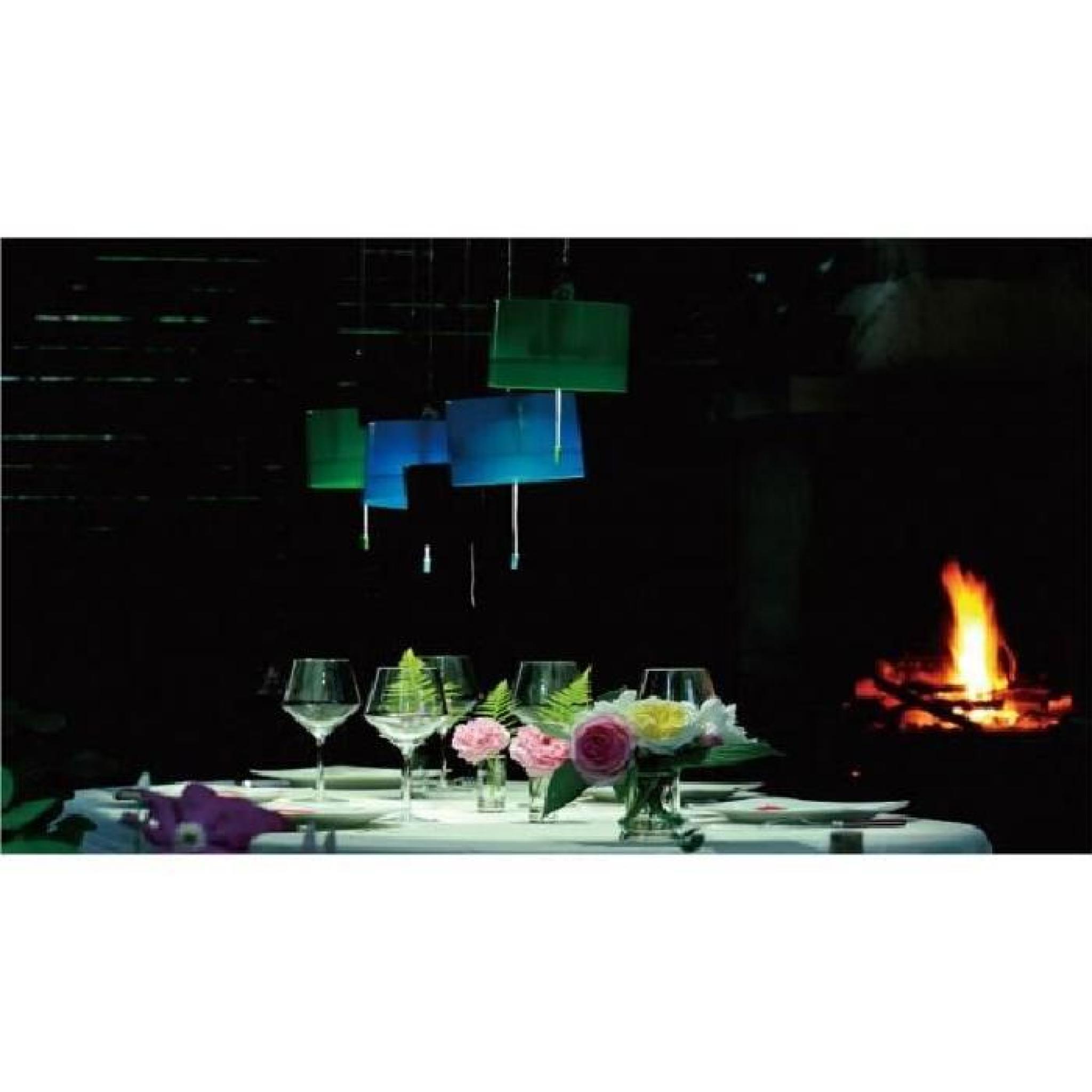 Lampe solaire suspendre de couleur verte achat vente - Lampe solaire jardin couleur changeante ...