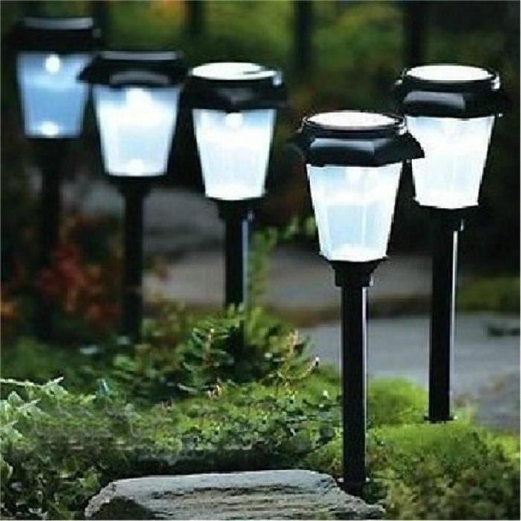 led lampe solaire jardin nergie changeant chemin jeu paysage ext rieur 3 couleur achat vente. Black Bedroom Furniture Sets. Home Design Ideas