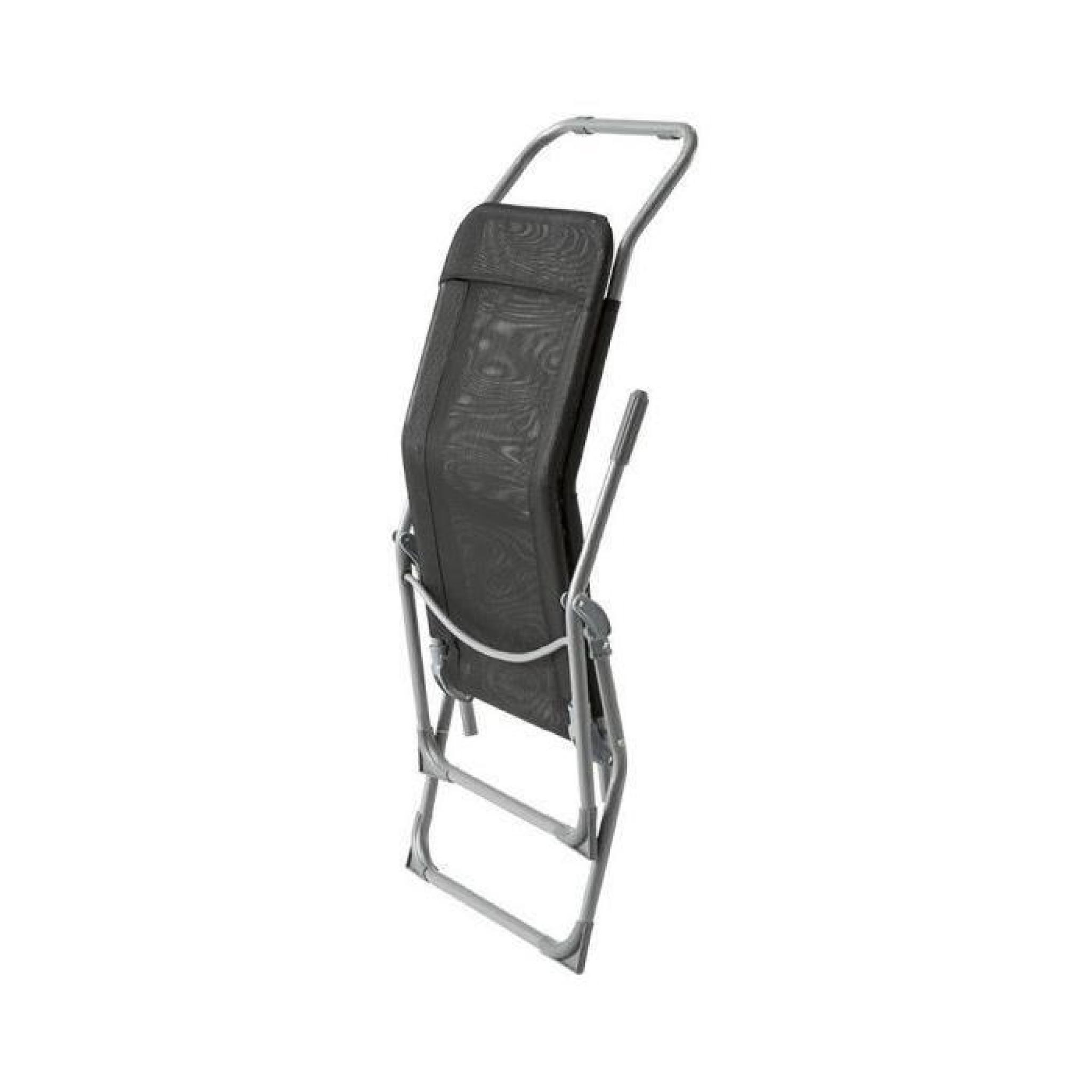 chaise longue siesta hesperide noir achat vente transat. Black Bedroom Furniture Sets. Home Design Ideas