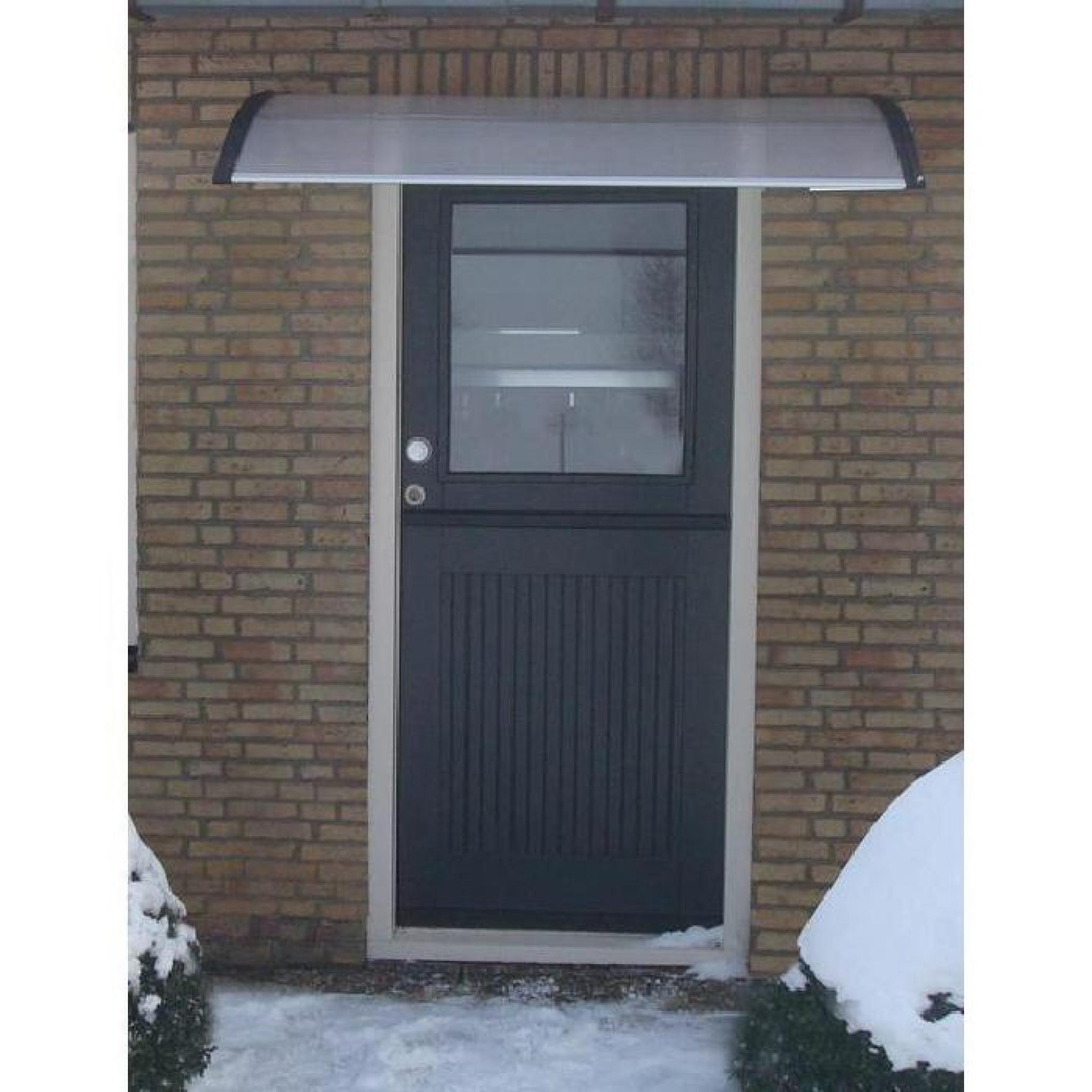 marquise auvent de porte d 39 entr e 150 x 100 cm achat vente auvent de terrasse pas cher. Black Bedroom Furniture Sets. Home Design Ideas