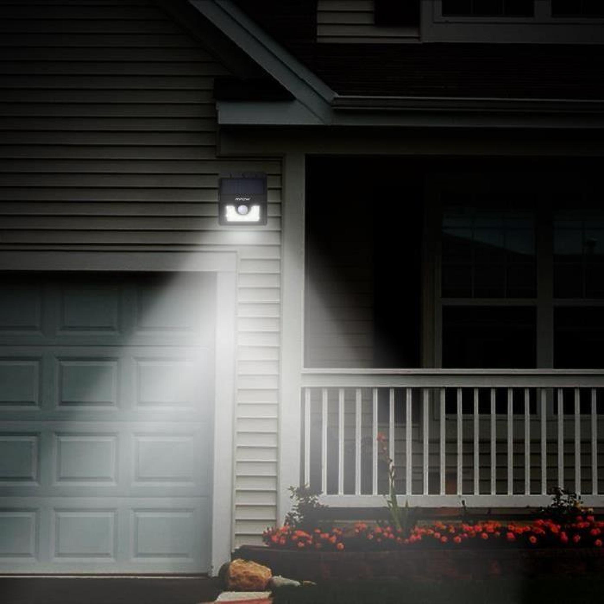 Mpow Lampe Solaire Etanche Faro Lumière 8 LED Sans Fil avec ...