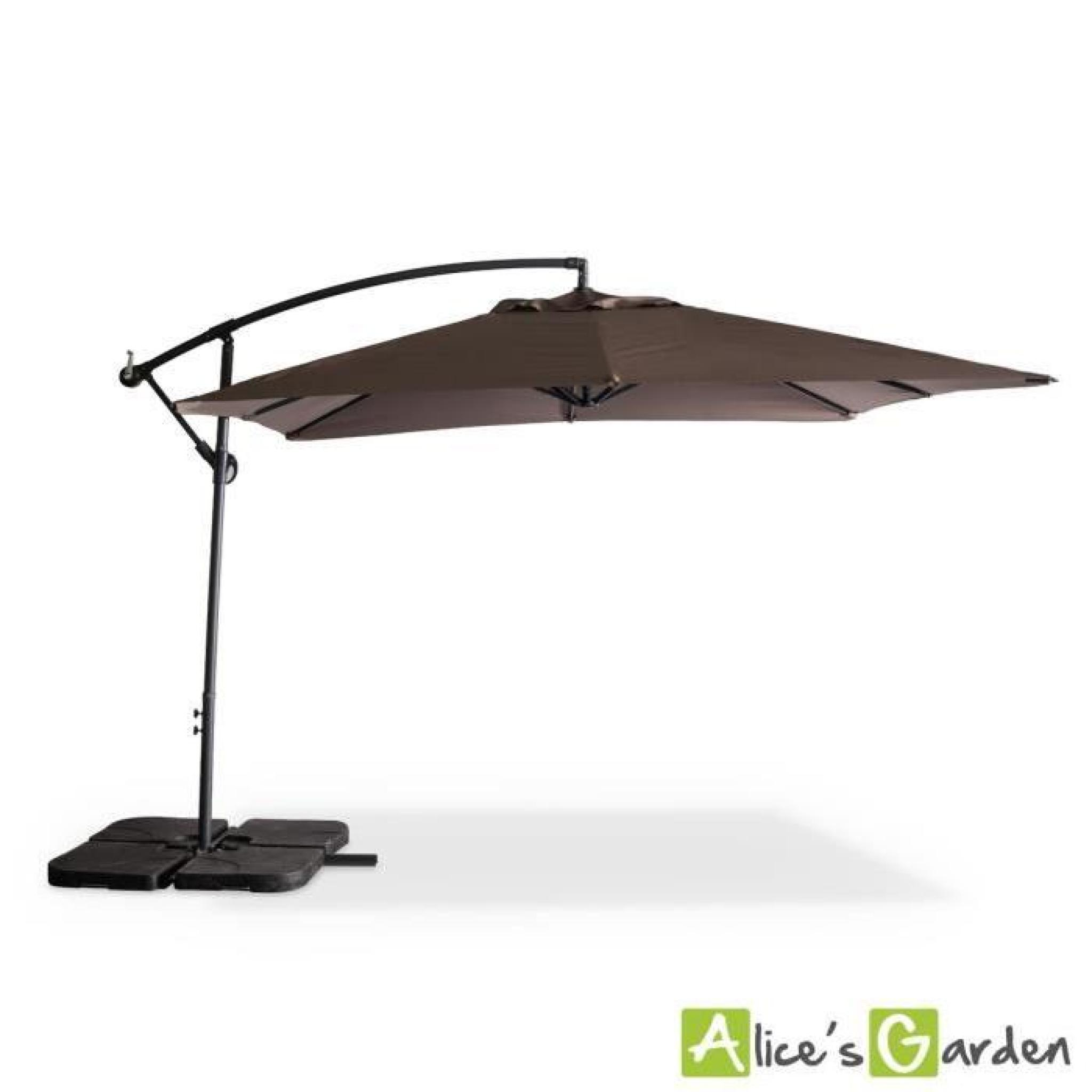 parasol deporte carre inclinable amazing photo parasol. Black Bedroom Furniture Sets. Home Design Ideas