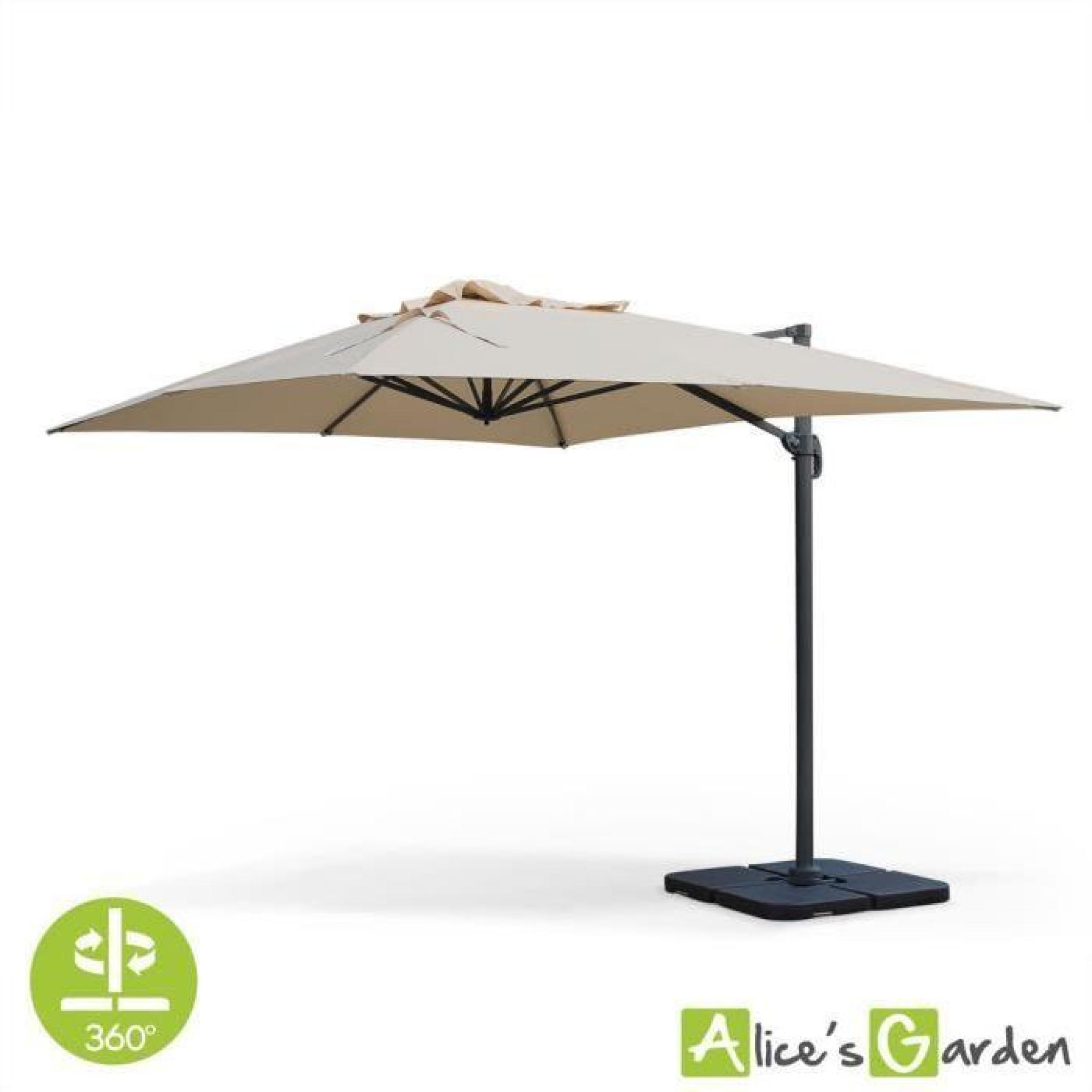 parasol d port rectangulaire st jean de luz 3x4m haut de. Black Bedroom Furniture Sets. Home Design Ideas