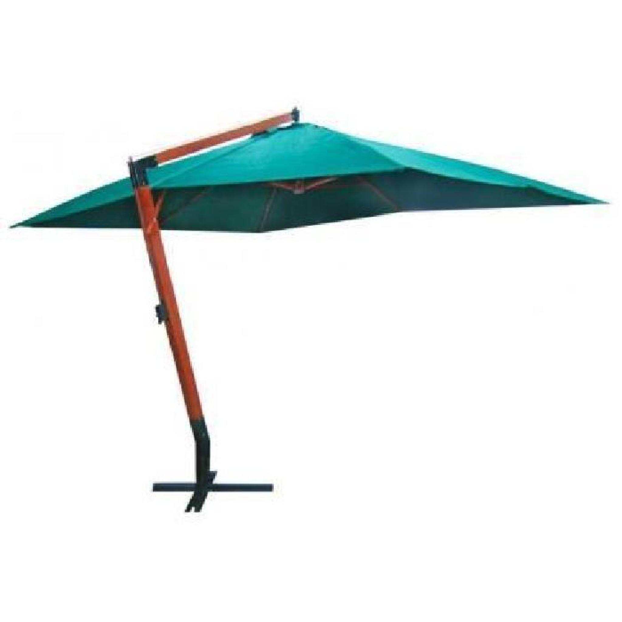 parasol deporte vert 300 x 400 cm achat vente parasol. Black Bedroom Furniture Sets. Home Design Ideas