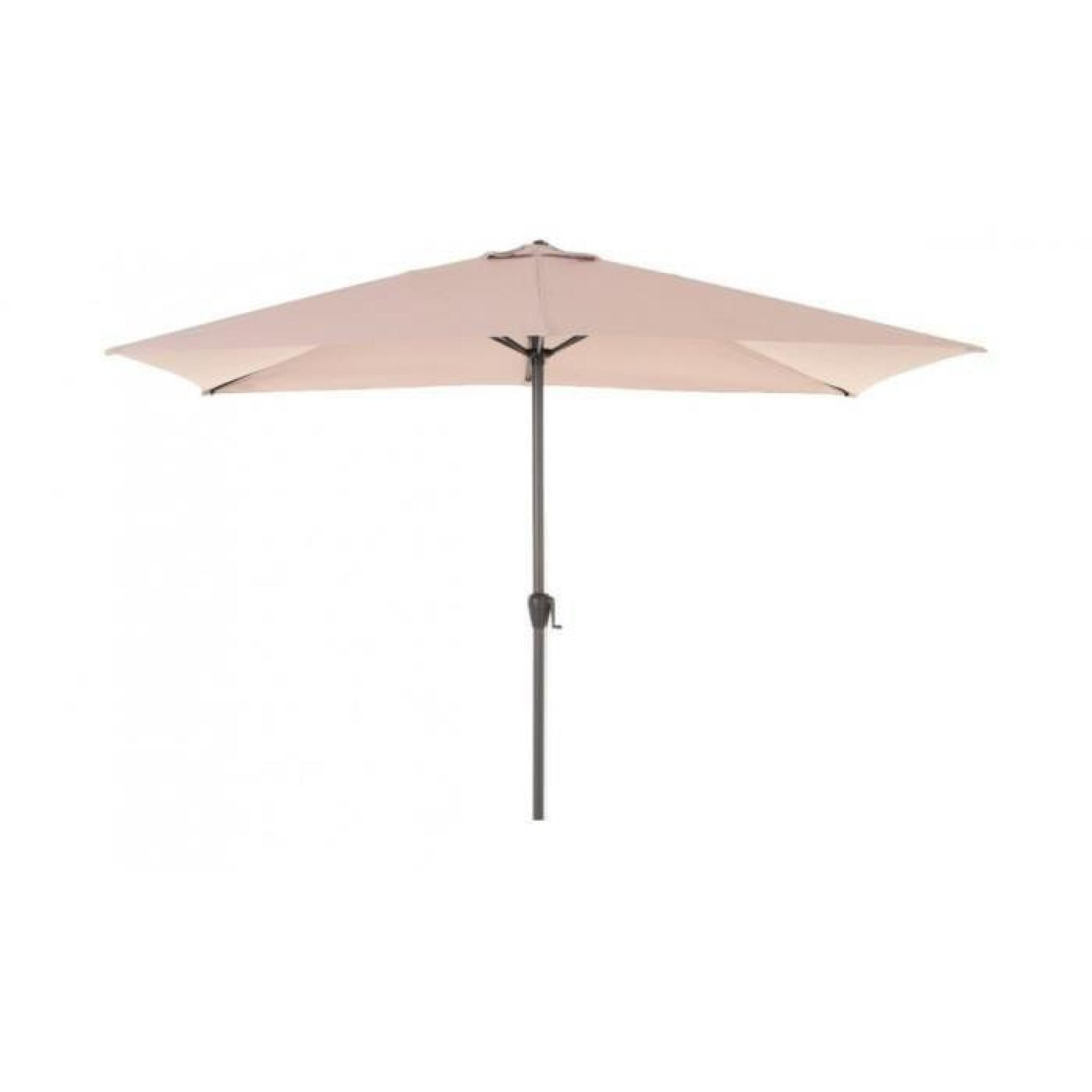 parasol fidji rect 2x3m hesperide taupe achat vente. Black Bedroom Furniture Sets. Home Design Ideas