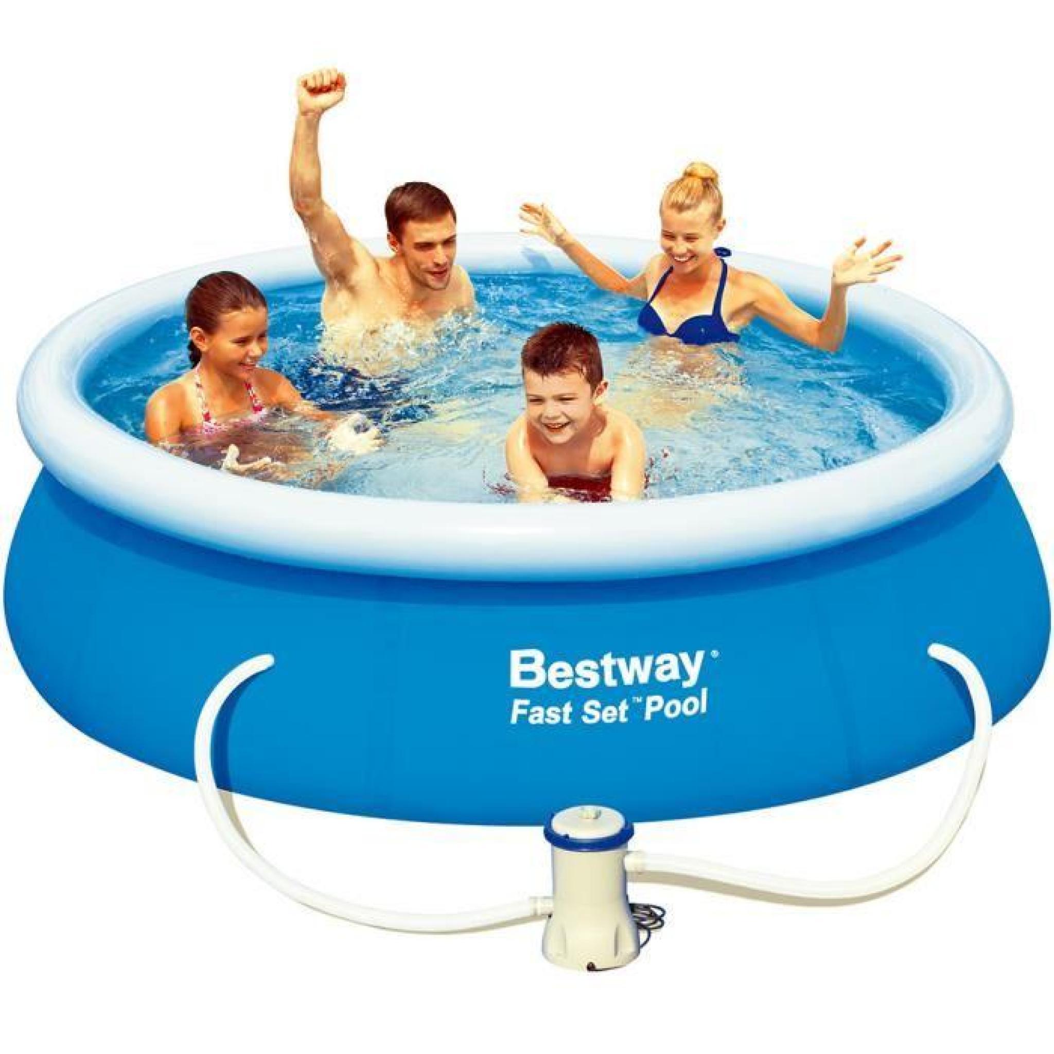 Piscine autoportante 244 avec pompe de filtrage achat Pompe piscine hors sol pas cher