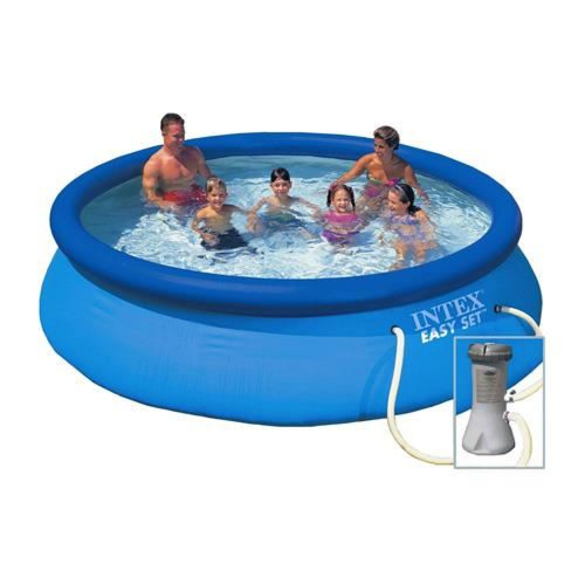 Piscine easy set et purateur diam 3 66 x 0 76 m for Piscine autoportante pas cher