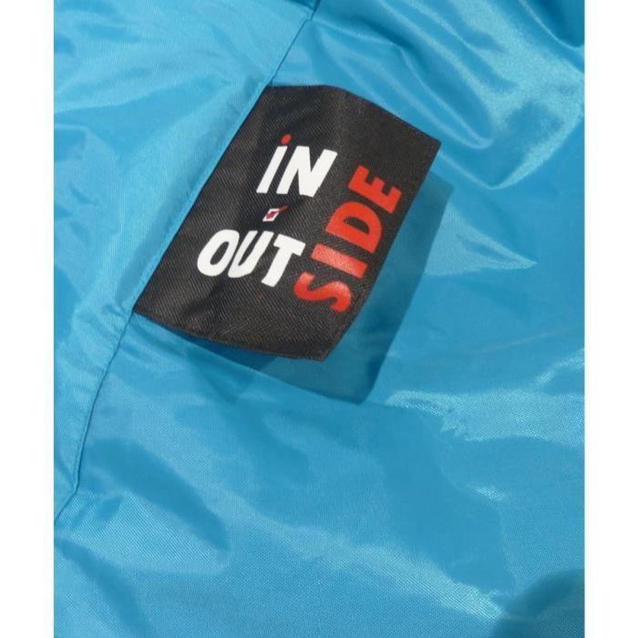 Poire Side imperméable 90x110 cm turquoise - Achat/Vente pouf ...
