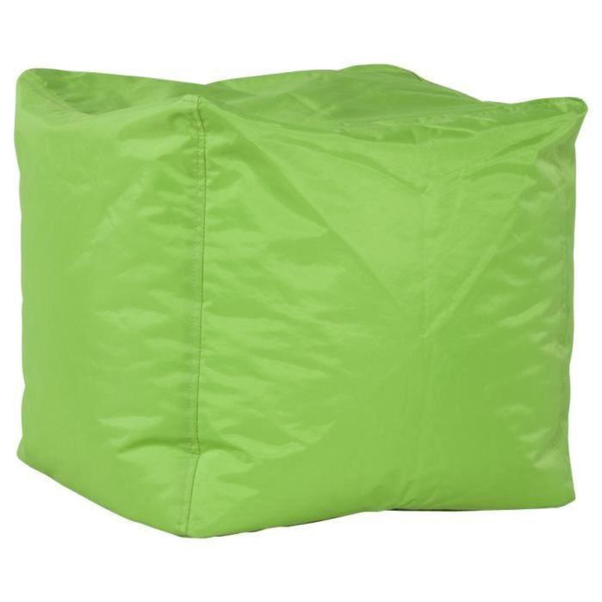 Pouf d'appoint 'EASY' vert