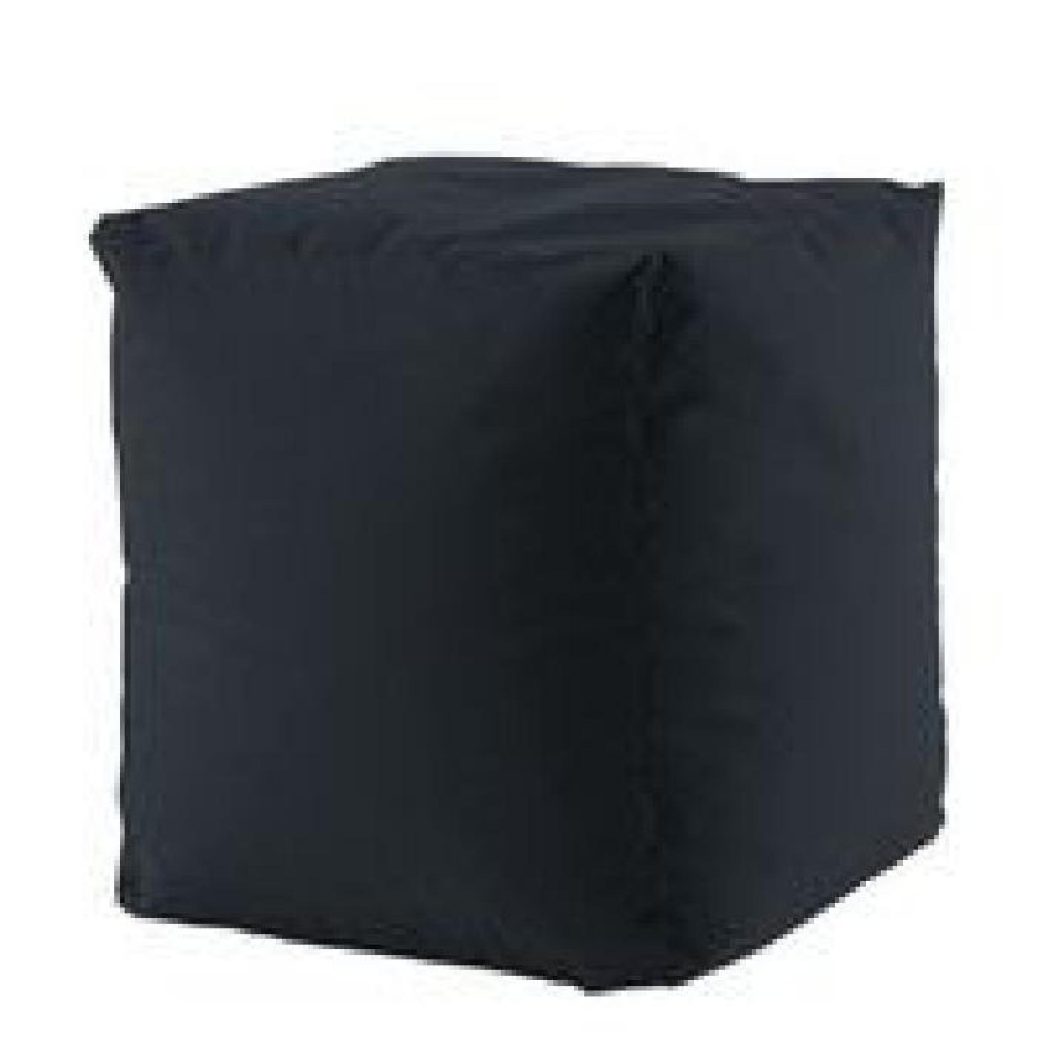 Pouf outdoor square noir achat vente pouf exterieur pas for Mobilier outdoor pas cher