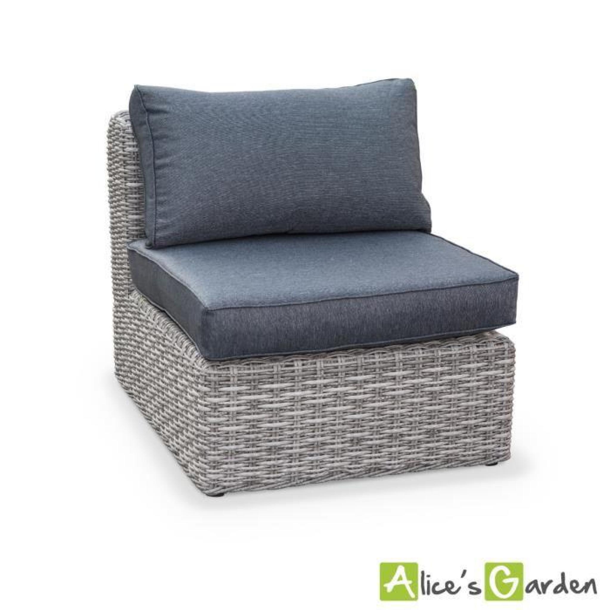 salon de jardin tonico en r sine tress e arrondie 3. Black Bedroom Furniture Sets. Home Design Ideas