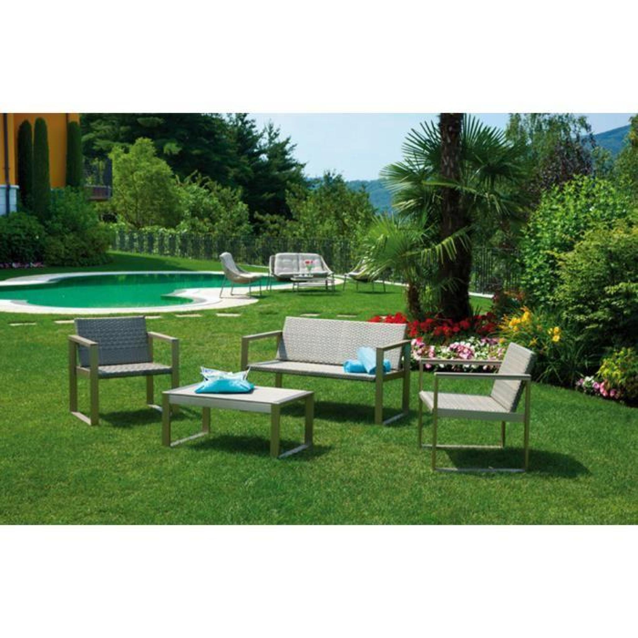Table salon de jardin pas cher home design for Sallon de jardin pas cher