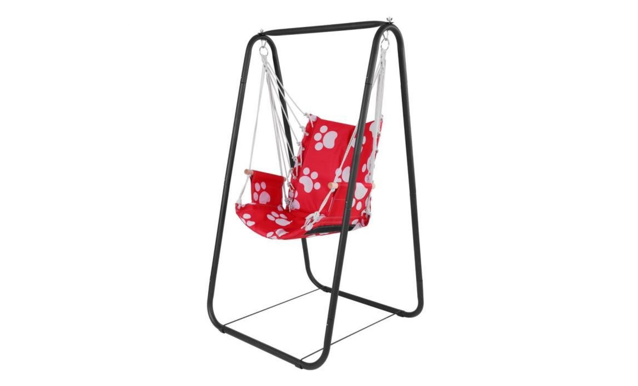 si ge de balan oire pour enfant garden yard hamac si ge. Black Bedroom Furniture Sets. Home Design Ideas