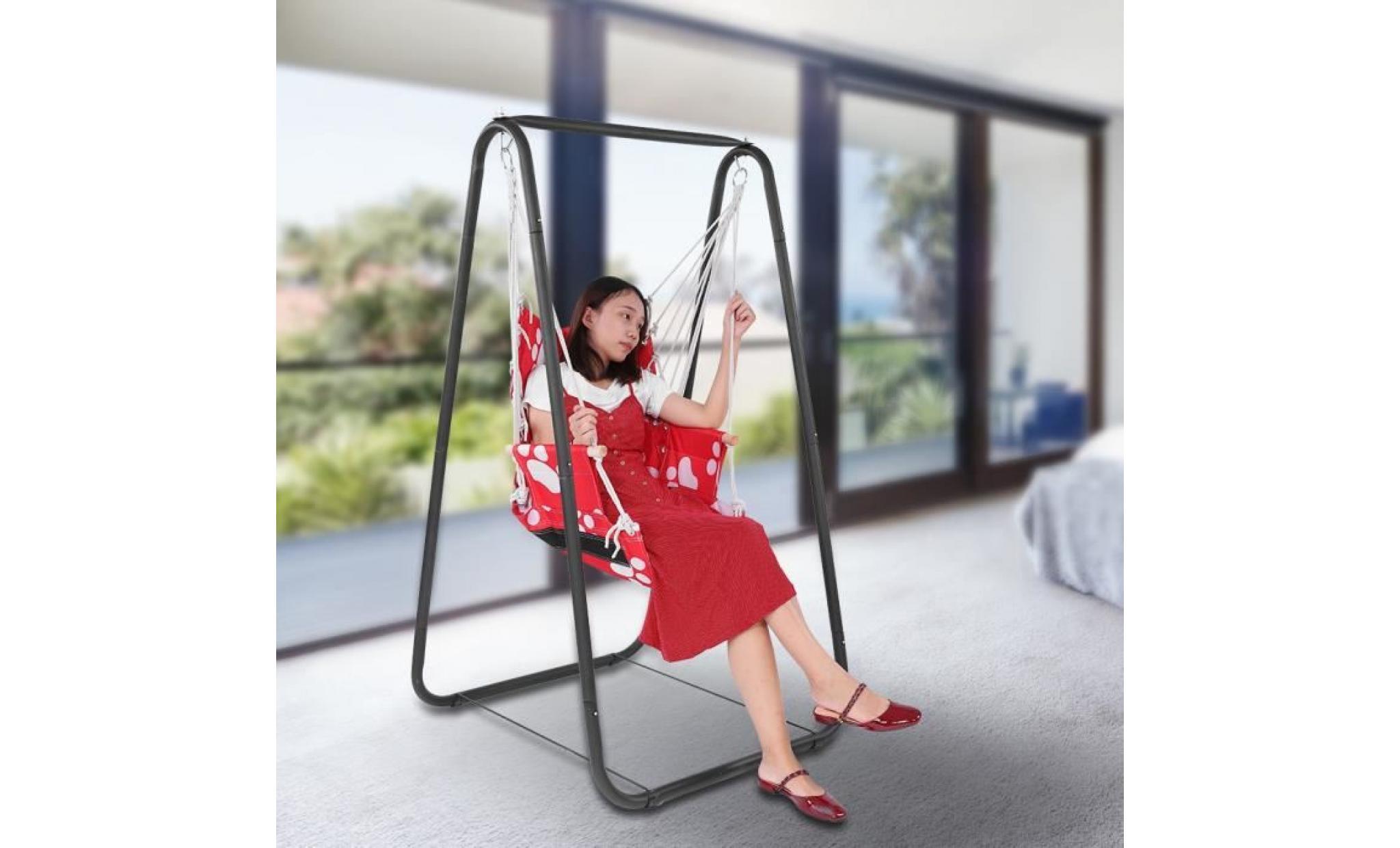 si ge de balan oire pour enfant garden yard hamac. Black Bedroom Furniture Sets. Home Design Ideas