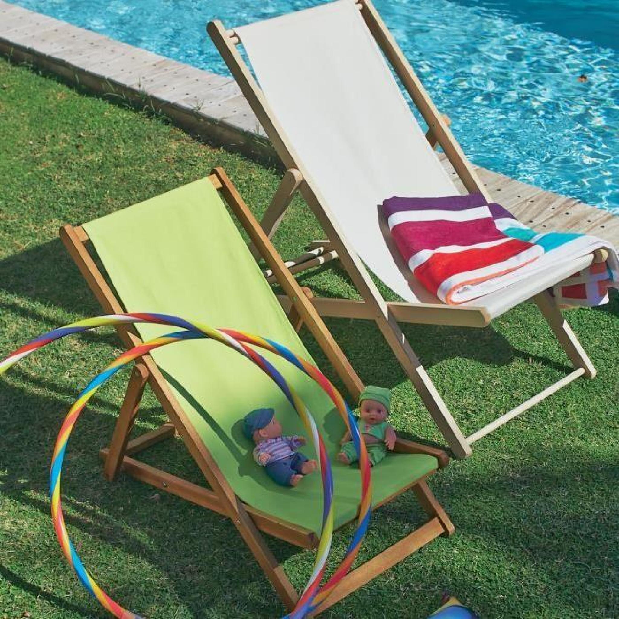 solea chaise longue de jardin chilienne cru pour enfant. Black Bedroom Furniture Sets. Home Design Ideas