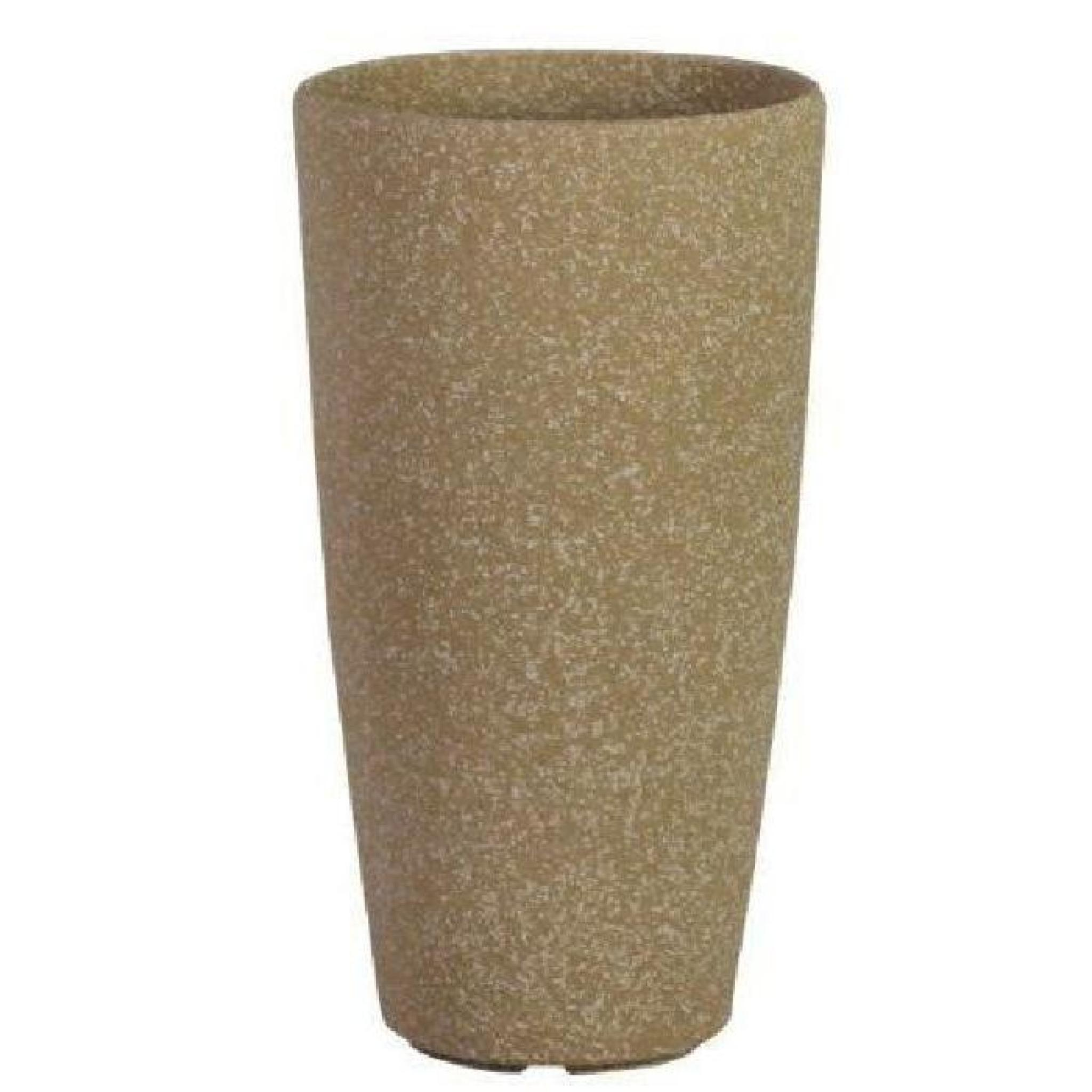 Stone Light SG Pot rond en pierre Grès beige 33…
