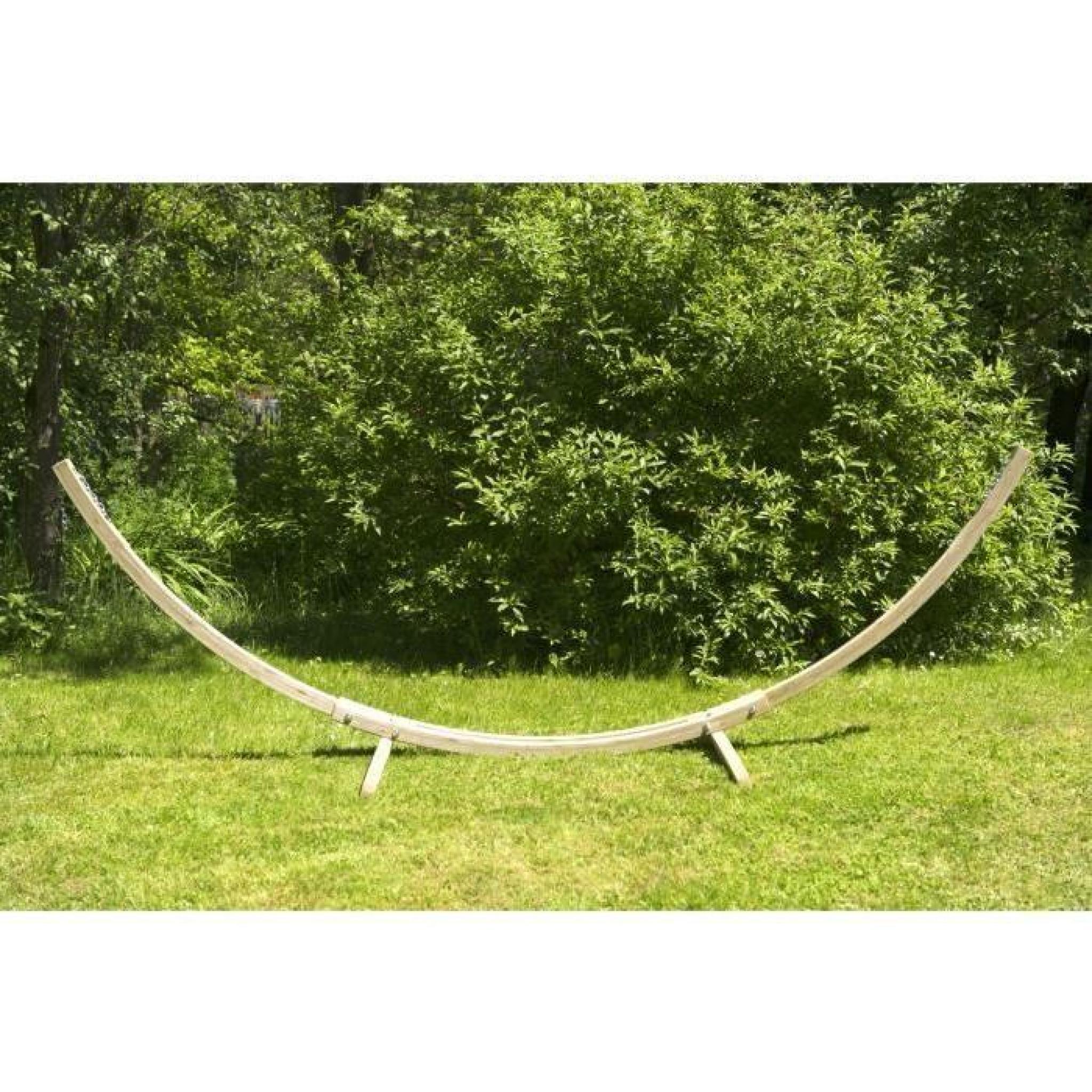 Kronos support bois pour hamac de 270 320m achat vente - Support en bois pour hamac ...