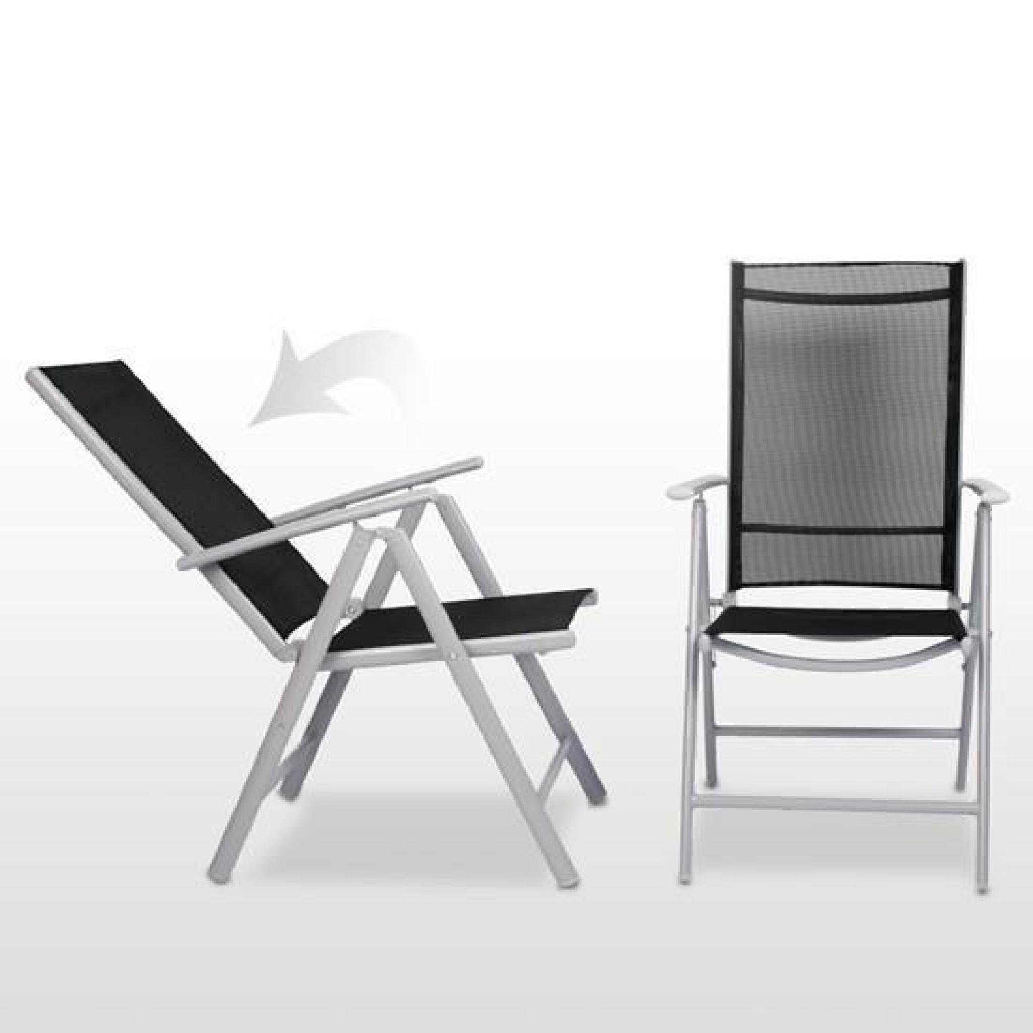 table chaises jardin aluminium achat vente salon de jardin en aluminium pas cher. Black Bedroom Furniture Sets. Home Design Ideas