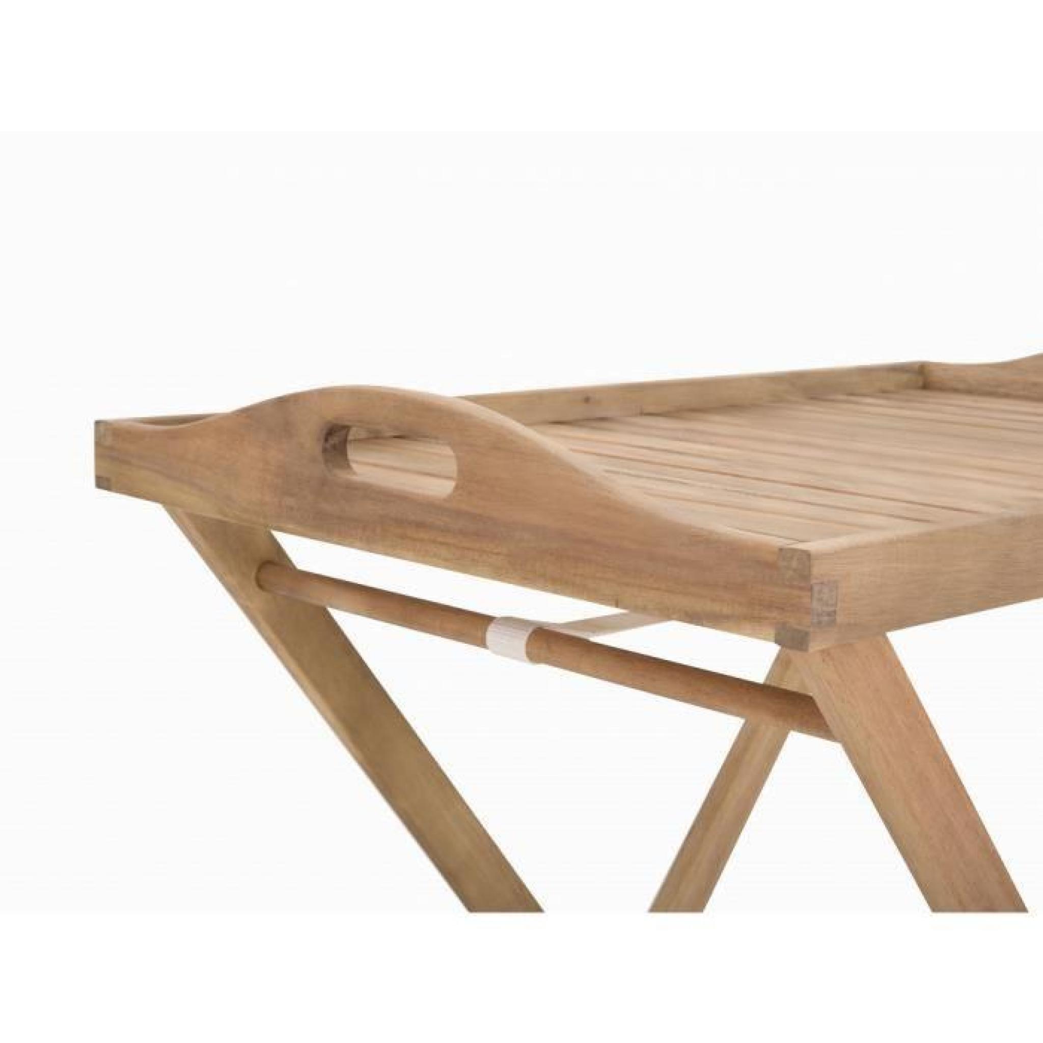 table de jardin table d appoint en bois riviera achat vente table de jardin en bois pas