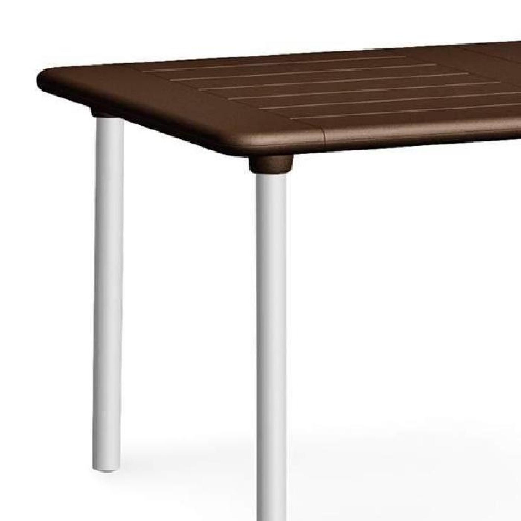 Table extensible NARDI Maestrale 160-220 cm - Café