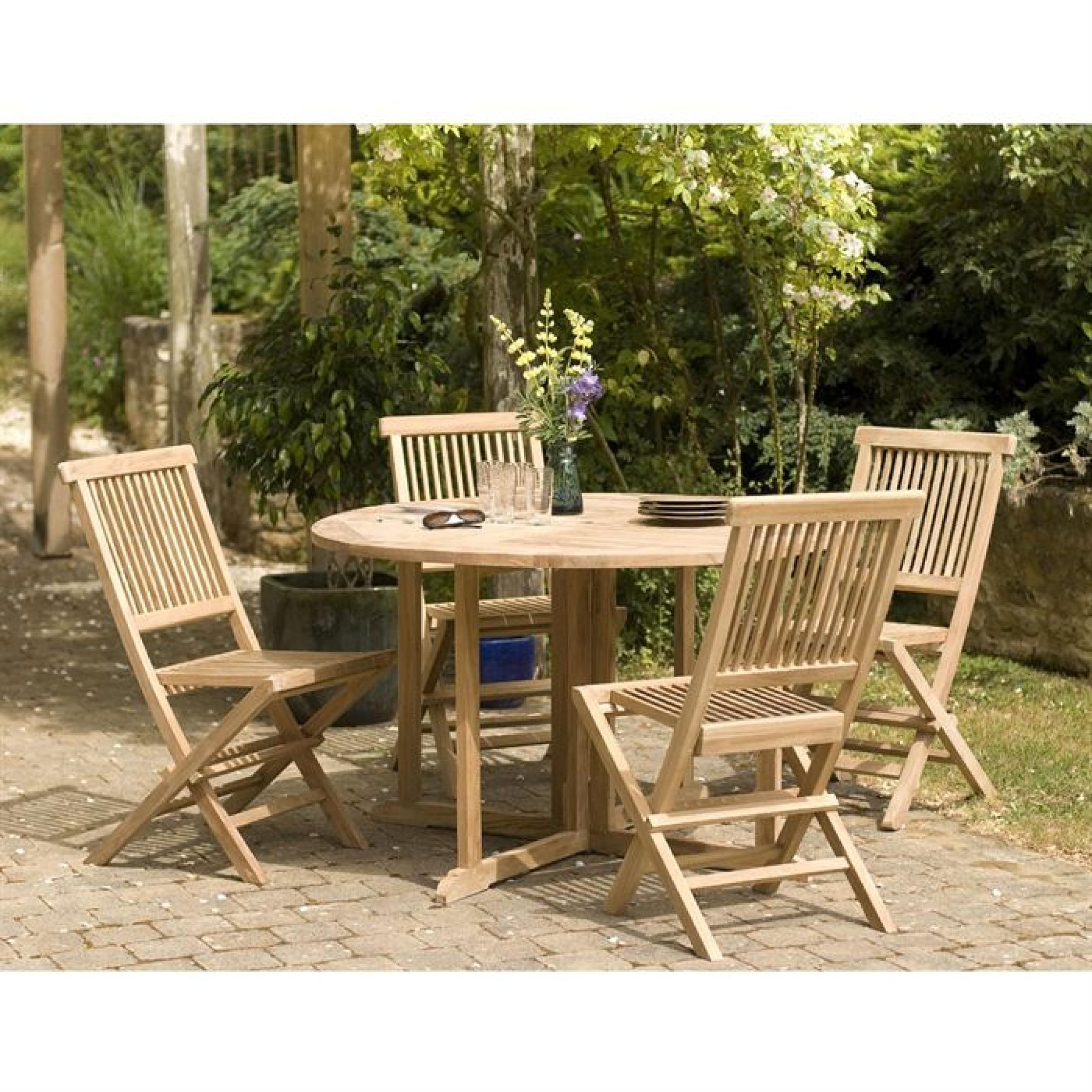 table papillon en bois teck massif achat vente table de. Black Bedroom Furniture Sets. Home Design Ideas