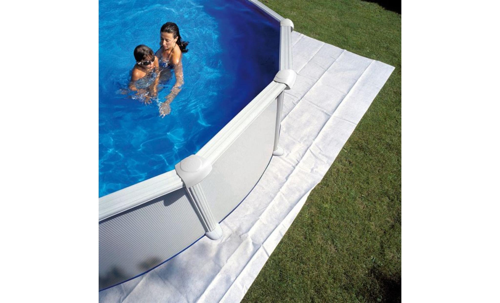 gre tapis de sol feutrine piscine 450 460 cm achat vente bache piscine pas cher. Black Bedroom Furniture Sets. Home Design Ideas
