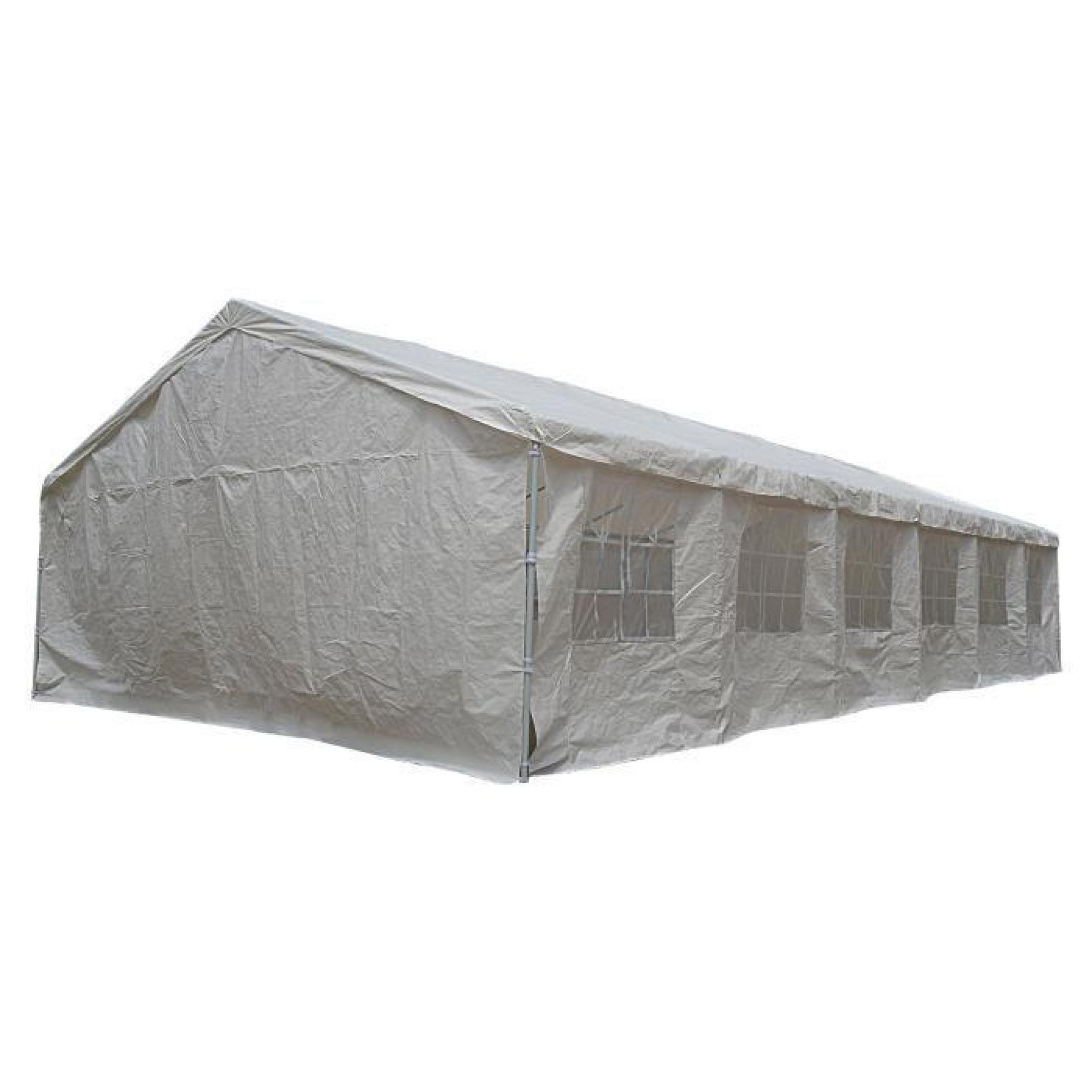 tente de jardin tente de jardin pergola 6x12m toile blanche achat vente