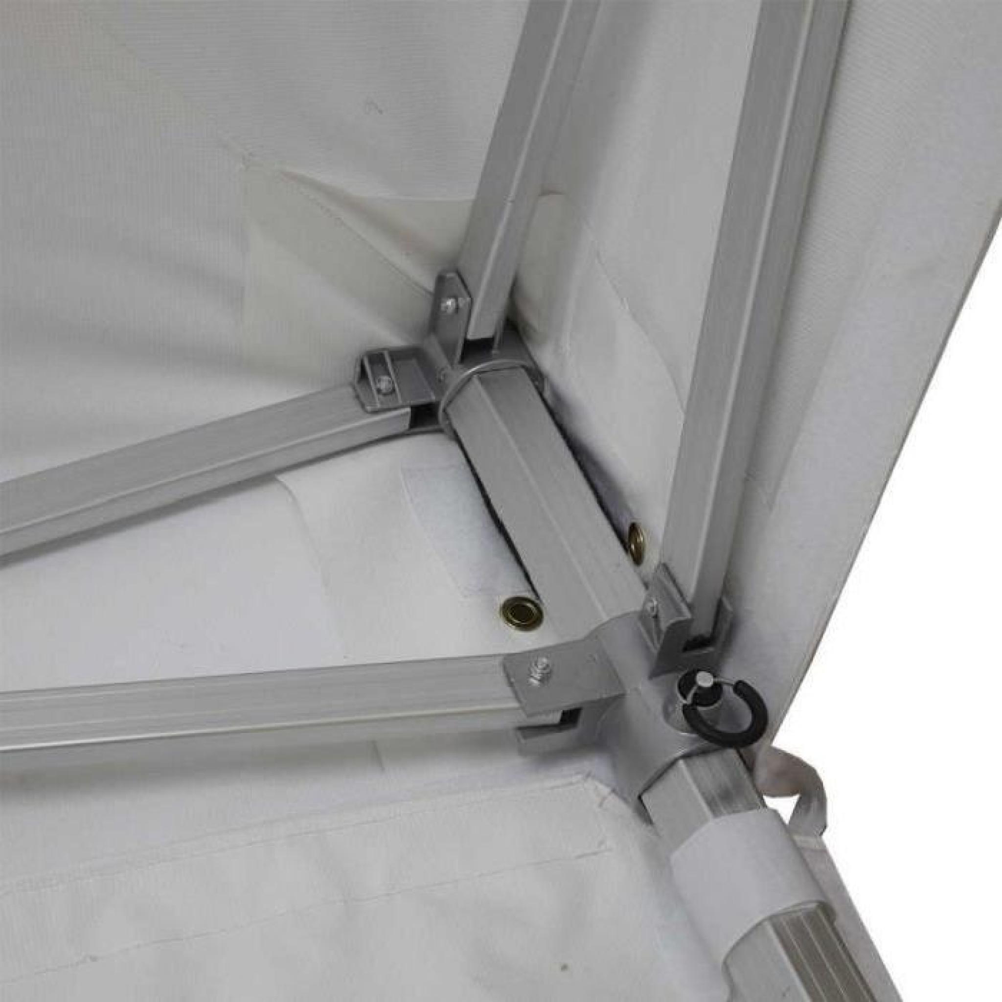 tente pliante pro 3x3 m anti feu barnum pliable achat vente pergola en aluminium pas cher. Black Bedroom Furniture Sets. Home Design Ideas
