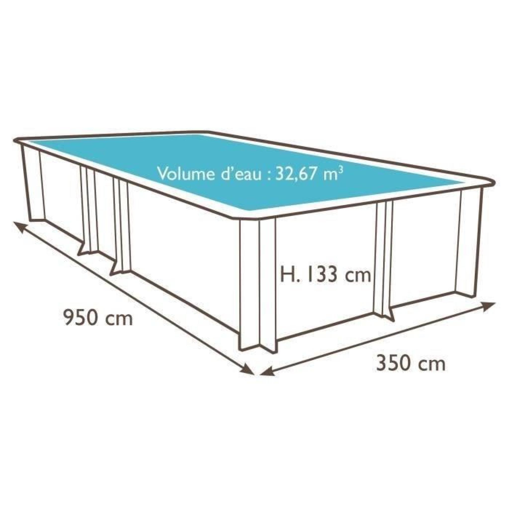 vente piscine bois cool tropic piscine bois m hauteur m achat vente piscine et bache piscine. Black Bedroom Furniture Sets. Home Design Ideas