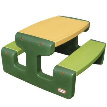 - Grande table de pique-nique verte Little Tikes pas cher