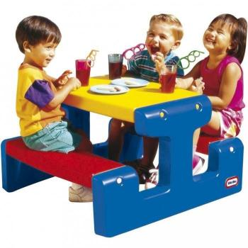 - Jouets d'activite Table de pique-nique Junior Little Tikes pas cher