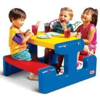 - Little Tikes junior Table pique-nique - primaire pas cher