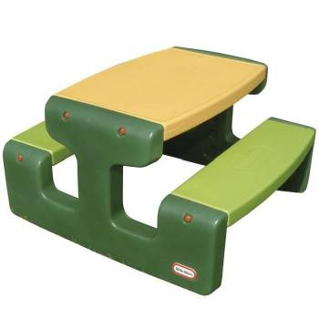 - P50 Grande table de pique-nique verte Little Tikes pas cher