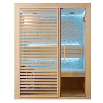- Sauna traditionnel Intimo - 150 x 105 x 190 - Cêdre rouge pas cher