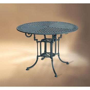 Table de jardin ronde   - TABLE TEIDE 90 pas cher