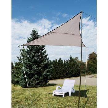 Voile ombrage  - Voile d Ombrage Triangulaire 3 x 3 m pas cher